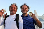 vascotto and ranchi drinking in palma 2011