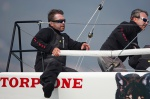 b bircin & e lupi on melges32 torpyone 2013